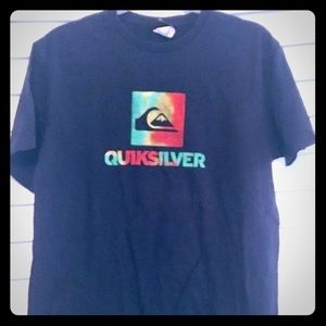 Quicksilver Men's Black Logo T-Shirt